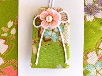 (萌桜空)元巫女の花のお守り袋の画像