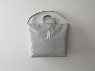 eco bag 2way (light gray)の画像
