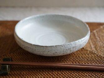月下白 皿鉢 No.421の画像