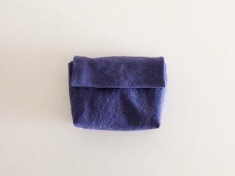 きちんとポーチ S / purpleblueの画像