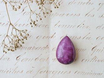 天然石の帯留 ◎スティヒタイト/A【送料無料】の画像