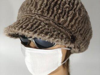 【即日発送】ノーズワイヤー入り立体マスクの画像