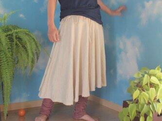 asana スカート、ポンチョ、ベアチュニックにもなる3WAYの画像
