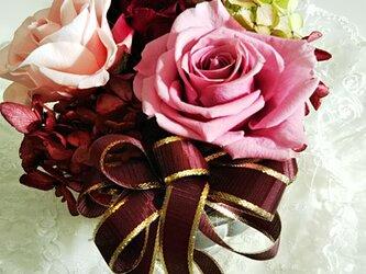♡おとなかわいい色合いのプリザ♡の画像