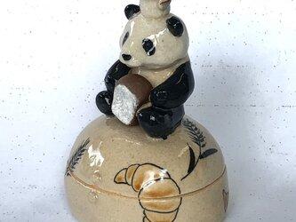 陶ハコ「パンダのパン屋さん」の画像