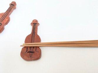 バイオリンの箸置き(1個)の画像