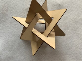 TriangleStar シナ板 Lサイズの画像