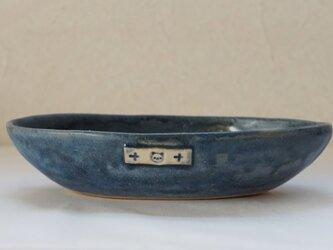 舟形パンダ鉢の画像
