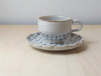 小花模様のカップ&ソーサーの画像
