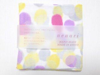 nenariガーゼ ハンカチ フェアリー ピンクの画像