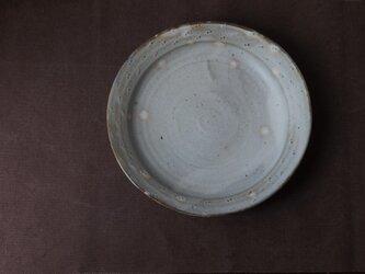 粉引きリム鉢(てんてん)の画像