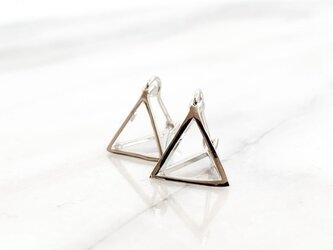 sv925 triangle motif pierces n459の画像