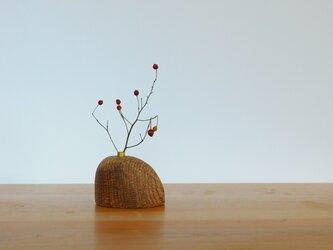 木の一輪挿し N-2 櫟の画像