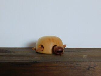 お風呂で遊べる 木のおもちゃ かめ②の画像