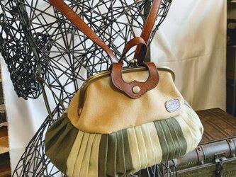 『受注製作品』倉敷帆布 バルーンリュック20の画像