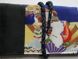 4822 お宮参り着で作った和風財布・ポーチ #送料無料の画像