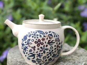 kakiotoshi teapot  — ツバメの季節の画像