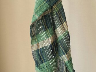 【手織り】木綿のストール#12の画像