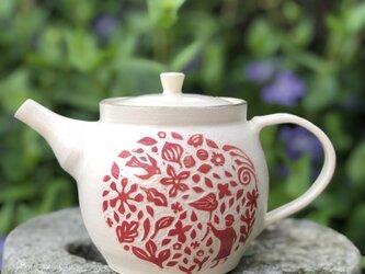 kakiotoshi teapot  — 風の日もの画像