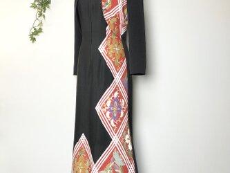 着物リメイク 留袖アンサンブルドレスの画像