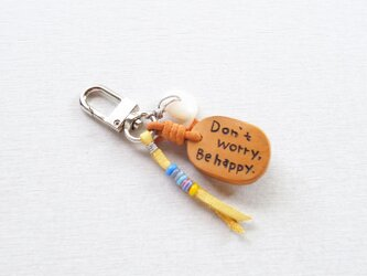 YAKU-SUGI〔Don't worry Be happy〕Key-holder ●2個限定●の画像