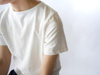 pablo cotton/center back tshirt / white/size1・2の画像