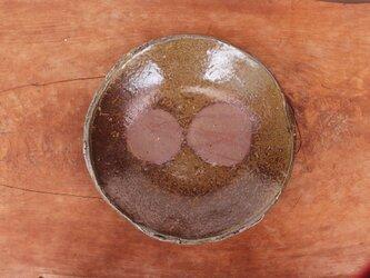 備前焼 皿・ぼた餅(約19cm)  sr4-066の画像