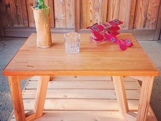 クロスレッグテーブルの画像