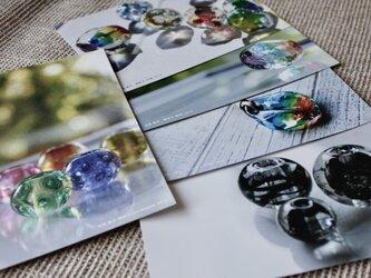 【期間限定】蜻蛉玉作家*正岡雅子 ポストカード 5枚セット/ 送料無料の画像