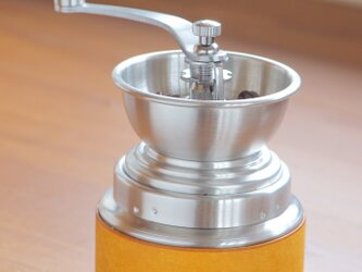 ポポロコーヒーミル レザーカバーの画像