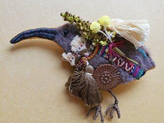 IRODORI AZ brooch(キーウィ)の画像