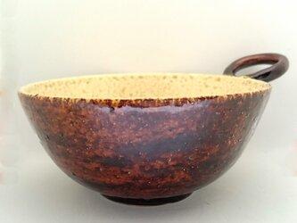 (単品)あめ釉スープカップの画像