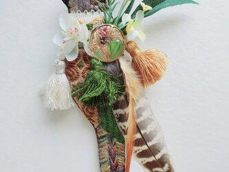 IRODORI AZ brooch(ミヤマインコ)の画像