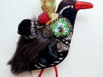 IRODORI AZ brooch(ヤンバルクイナ)の画像