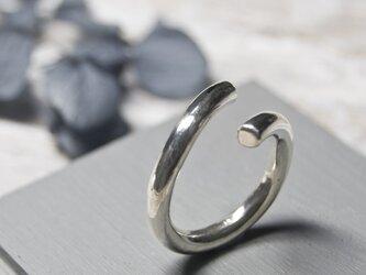 鏡面 シルバーラウンドプレーンリング フリーサイズ 3.0mm幅 ミラー シルバー950|SILVER 指輪 シンプル|235の画像