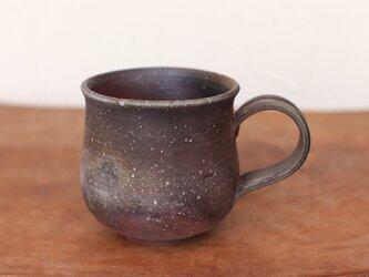 備前焼 コーヒーカップ(大) c8-078の画像