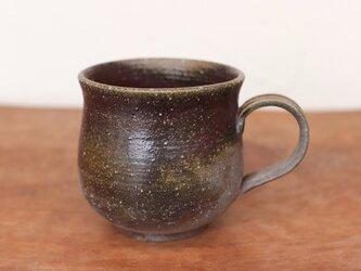 備前焼 コーヒーカップ(大) c8-080の画像