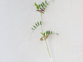 \展示品アウトレット/真鍮の壁掛け花器 [ フラワースプーン ]サクラの画像