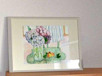 A4ポスター 紫陽花の画像