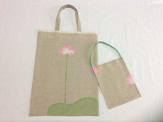 掛けて絵になる蓮花のかばん (〜2)の画像