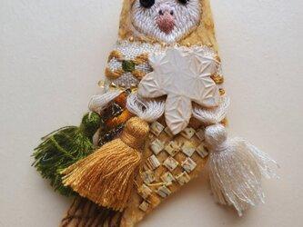 IRODORI AZ brooch(メンフクロウ)の画像