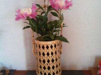 花籠(菱形模様)の画像