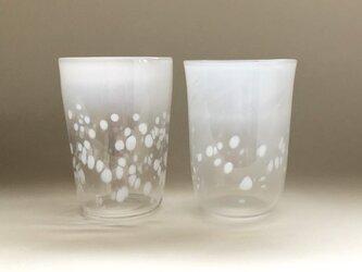 吹きガラスで作る snow glassの画像