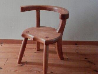 小椅子 ch1110 サクラ 子ども椅子の画像