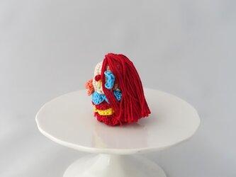 アマビエの指人形(レッド2)の画像