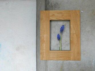 壁掛け花入れ 木の一輪挿し①の画像