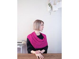 ◆即納◆Rubidea[ルビデア] スヌード・ケープ3 / フューシャ・ピンクの画像