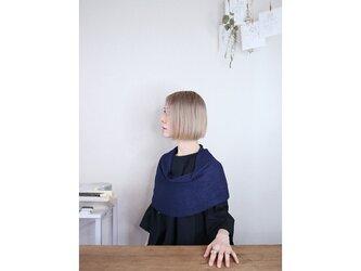 ◆即納◆Rubidea[ルビデア] スヌード・ケープ3 / ネイビー・ブルーの画像