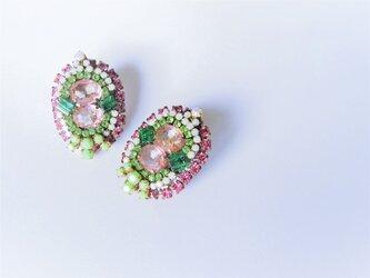ヴィンテージビジューイヤリング vintage earrings bijou <ER1-0420>の画像