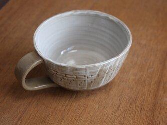 飛びかんな模様のコーヒーカップ Aの画像